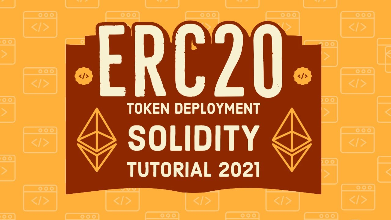 thumbnail for video & guides for cryptoist.org tutorial on deploying erc20 token to ethereum network
